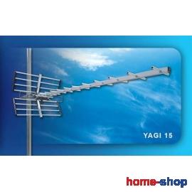 Επίγεια ψηφιακή Κεραία UHF YAGI 15