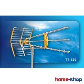 Κεραία τηλεοράσεως UHF Τριπλή μεσαία ΤΤ120