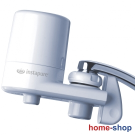 Φίλτρο νερού με λευκό κορμό και λευκό καπάκι INSTAPURE F2 (F6)