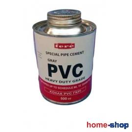 Κόλλα P.V.C. Γκρι 250ml