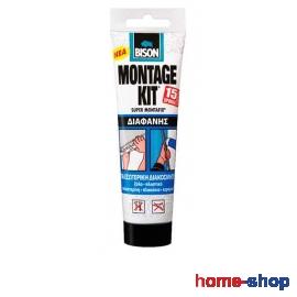 Κόλλα Διάφανη Bison Montage Kit