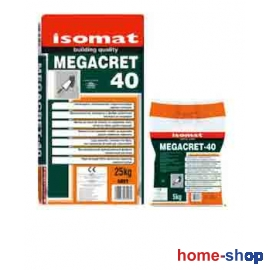 Ινοπλισμένο επισκευαστικό τσιμεντοκονίαμα υψηλών αντοχών MEGACRET-40