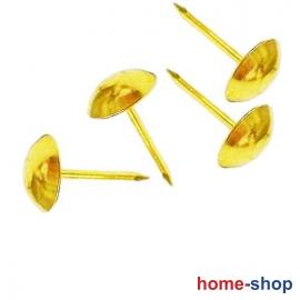 Διακοσμητικά Καρφιά Στρογγυλά (καμπαράδες) Χρυσά