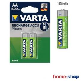 Επαναφορτιζόμενες Μπαταρίες  ΑΑ VARTA 1600mAh