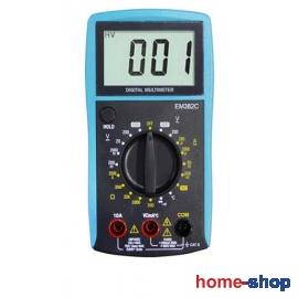 Πολύμετρο Ψηφιακό με Θερμοκρασία Adeleq