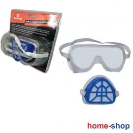 Γυαλιά Προστασίας με Μάσκα σετ