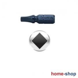 Μύτη Τετράγωνη R2x25mm Benman 74195