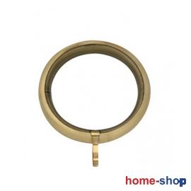 Κρίκος Φ60 Μεταλλικός Στρογγυλός Χρυσό/Ματ