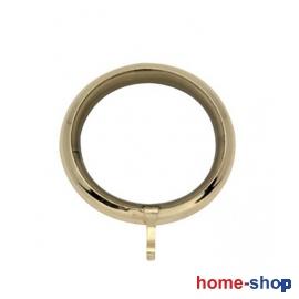 Κρίκος Φ60 Μεταλλικός Στρογγυλός Χρυσό