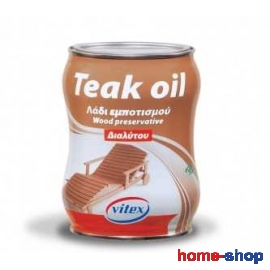 Λάδι εμποτισμού TEAK OIL 750ml VITEX